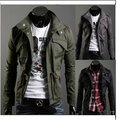 2014 NEW Hot-selling autumn and winter casual jacket male outerwear