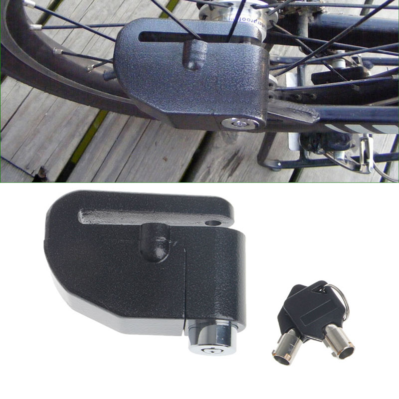 1Set  Motorcycle Bike Scooter Anti-theft Brake Disc Wheel Alarm Security Lock Loud