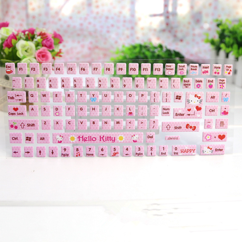 1PACK Sweets Hello KITTY DIY Computer & Laptop Keyboard ...