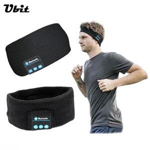 Image 1 - Ubit Smart Wearable Headphone Stereo Magic Music Headband Sports Bluetooth Wireless Headset With mic Answer Call for SmartPhone