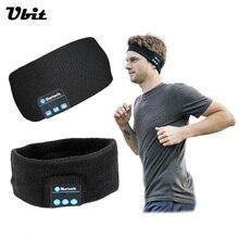 Ubit Smart Wearable Hoofdtelefoon Stereo Magische Muziek Hoofdband Sport Bluetooth Draadloze Headset Met microfoon Antwoord Oproep voor SmartPhone