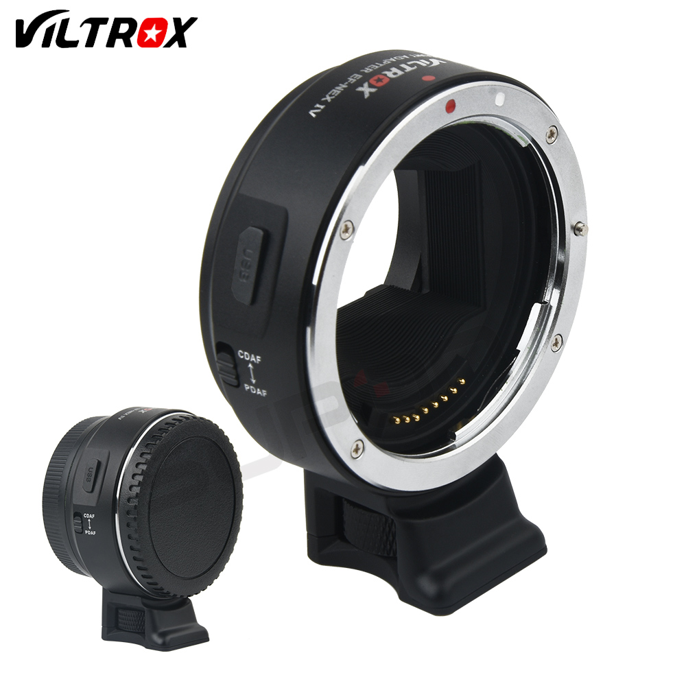 Viltrox EF-NEX IV AF Auto Focus Electronic Lens Adapter for Canon EOS EF EF-S to Sony Full Frame A7 A7R A7SII A6300 A6000 NEX-7 free shipping viltrox ef nex auto focus af mount adapter for sony nex camera nex 3 nex 5 nex 7 to canon ef ef s lens