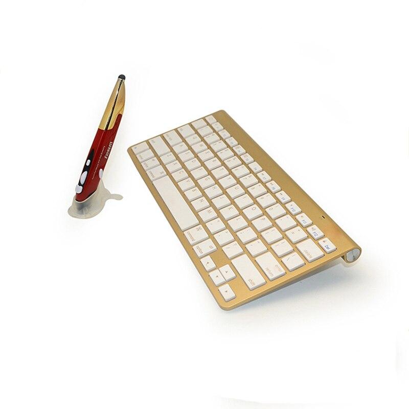 Wireless Keyboard/Mouse Combo, Waterproof Luxury Stylus Pen Mouse and Thin Wireless Keyboard Set Combos For DESKTOP PC Laptop keyboard