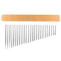 25 Bars 25 Tone Bar Chimes Single Row Percussion Musical Instrument
