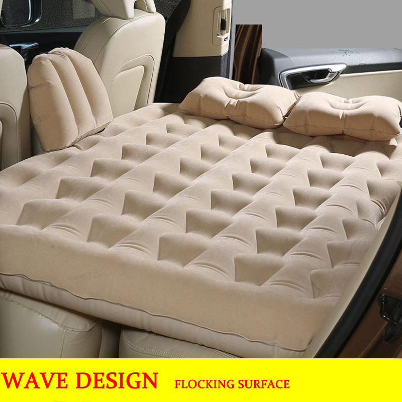 Car Air Mattress Travel Bed for kids Inflatable Mattress Car air Bed car sex bed out door camping mat flocking car bed sleep tpu car air bed inflatable car air mattress travel bed inflatable camping bed folding bed