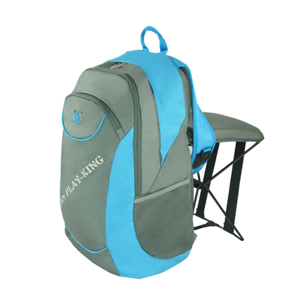 2017 New Fishing Chair Outdoor Portable Folding Stool Backpack/High quality Portable Trave Climbingl Outdoor Use Chair Backpack