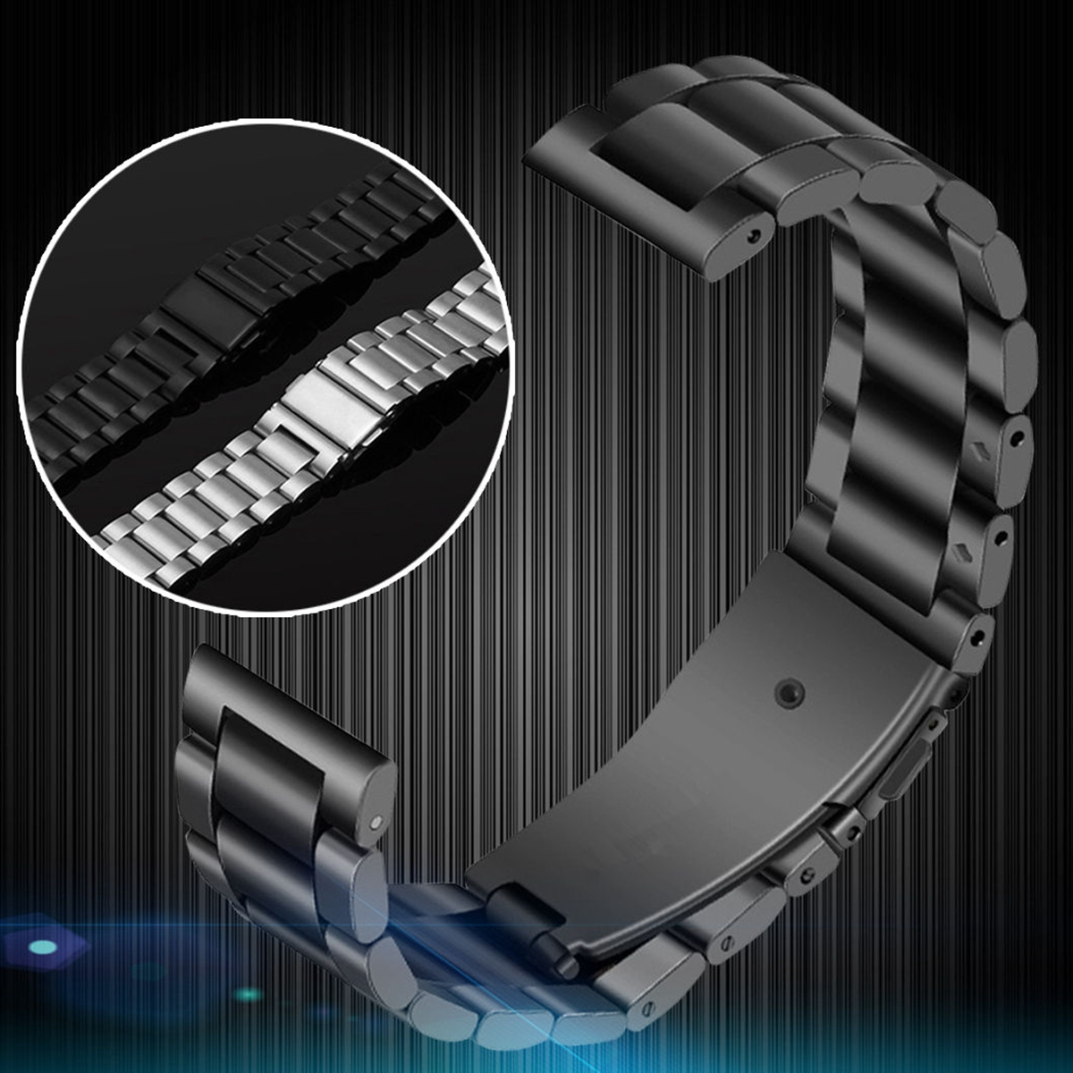 Classic Watch for Band Stainless Steel Strap for Bands for Samsung Gear Sport S2 Classic SM-R732 SM-R735 Smartwatch