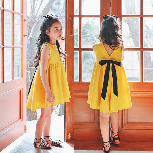 summer dress girls clothes dress roupas infantis menina robe kids dresses for girls  kids clothes Simple 2017 new 2-8 yrs