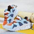 Primavera Crianças Tênis De Basquete Malha EVA Respirável Crianças Desporto Sapatilhas Chaussure Cesta Enfant Garcon Meninas Meninos Tênis De Basquete