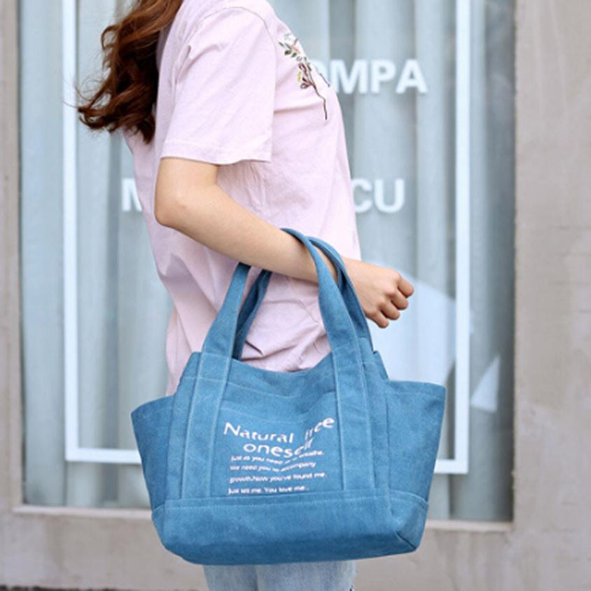 Molave Shoulder Bag new high quality Canvas Big Casual Letter Printing Bags Bucket Lady Handbag shoulder bag women FEB27
