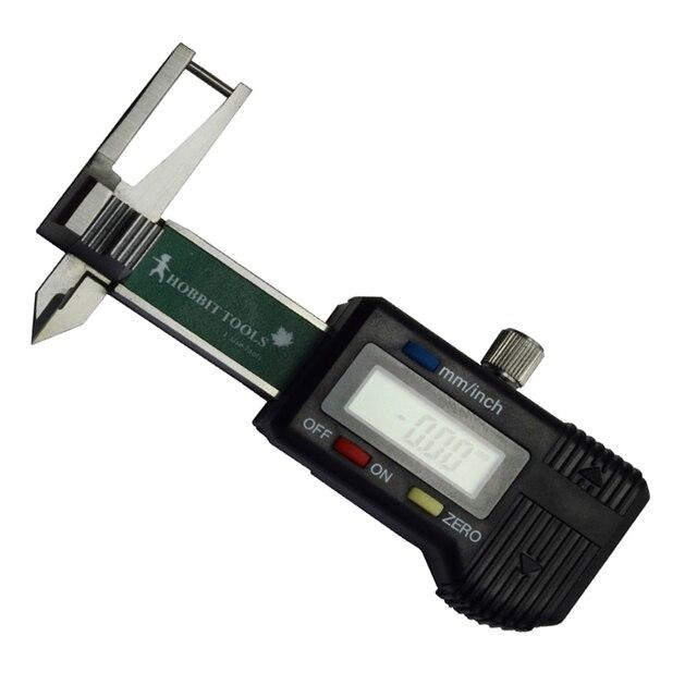 0-25mm 0.01mm Mini Digital Jewel Gem Gemstone Thickness Gauge Caliper Tools Kit