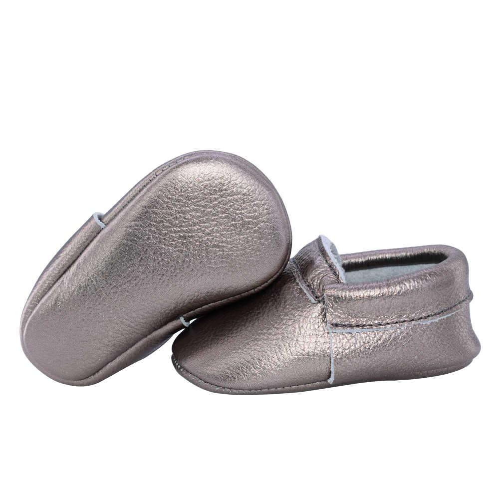 2019 יילוד אמיתי עור תינוק מוקסינים נעלי בנות הראשון ווקר ילדים בני נעלי תינוק schoenen
