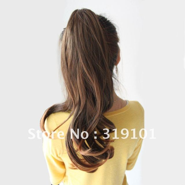 Free shipping high quality synthetic hair extensionladies curl free shipping high quality synthetic hair extensionladies curl clip in ponytail hairpieces pmusecretfo Gallery