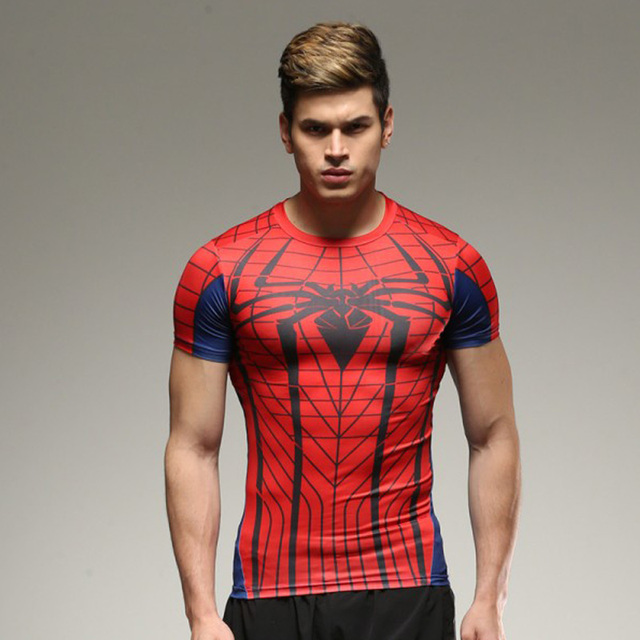 Spider-Man Fitness Compression T-Shirt