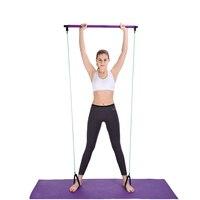 Тяговая веревка, фитнес-упражнения, Резистентные полосы, латексные трубки для кроссфита, гимнастический тренажер, экспандер для тренировки...