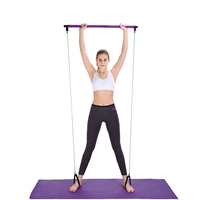 Pull Rope Fitness Exercises Resistance Bands Crossfit Latex Tubes Gymstick Pedal Excerciser Body Training Expander Workout Yoga