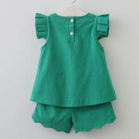 Bear Leader Girls Clothing Sets Arrivals Spring Summer O Neck Sleeveless Solid Kids Clothing Sets Children
