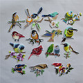 2016 year  fashion different style bird new arrive   hot melt adhesive applique embroidery patch DIY accessory high quality
