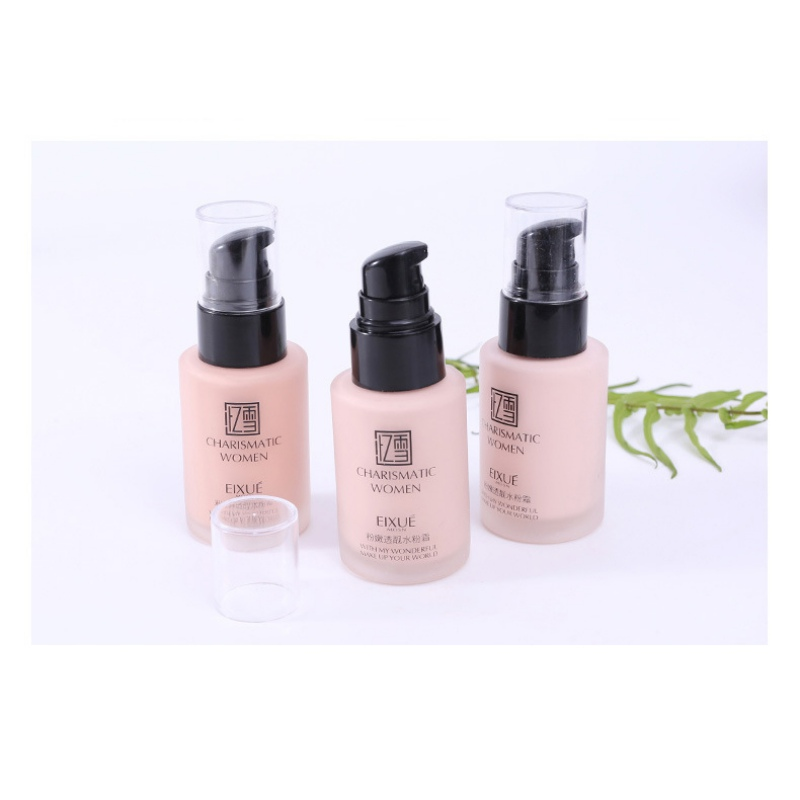 2019 Face Foundation Soft Matte Cream Long Wear Oil Control Concealer Liquid Foundation Cream Fashion Womens Makeup in Face Foundation from Beauty Health