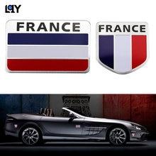 Автомобильная наклейка lqy 3d из алюминиевого сплава французский