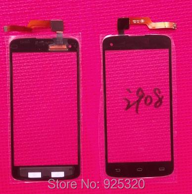 Envío libre, Pantalla Táctil negro para Philips CTI908 Celular touch de cristal para Xenium I908 teléfono móvil inteligente