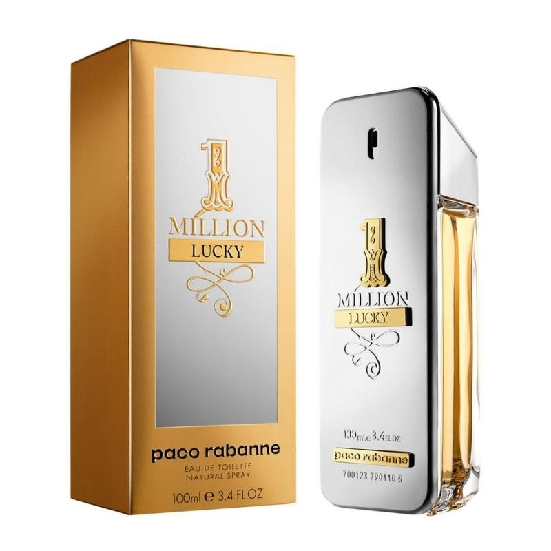 1 MILLION LUCKY BY PACO RABANNE By PACO RABANNE For MEN цена 2017