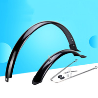 20 inch MTB Bicycle Mudguard Bike Fender Road Bike All inclusive Front and Rear Mud Guard wings Bike Accessories Bike Parts