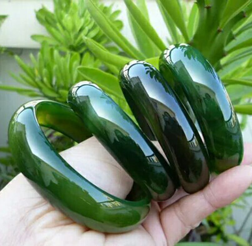 Free Shipping Green and Natural Brazil Agate BraceletJewelry Gift Jade  Bangle For WomenFree Shipping Green and Natural Brazil Agate BraceletJewelry Gift Jade  Bangle For Women
