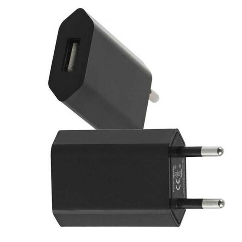 1 Máy tính Châu Âu EU Cắm USB AC Du Lịch Treo Tường Sạc Sạc Điện Cho Apple Dành Cho iPhone 6 6 S 5 5S 4 4 S 3GS