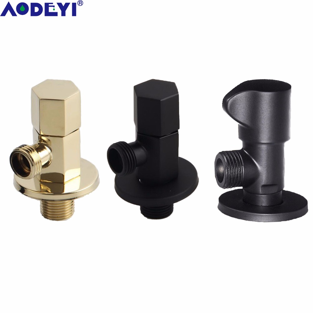 AODEYI Stainless Steel Plumbing Valve Wall Outlet Male G1/2\