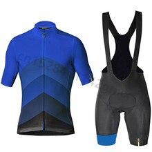 New Mavic Men Summer Breathable Anti-UV Bicycle Wear/Bike Short Sleeve Cycling Jersey Set Ropa Ciclismo Maillot Cycling Clothing стоимость