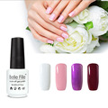 Belle Fille Nail gel 8ml UV Gel Polish Vampire Blood Red Soak Off Wine Red Gel Colorful Bling Varnish French Manicure Varnish