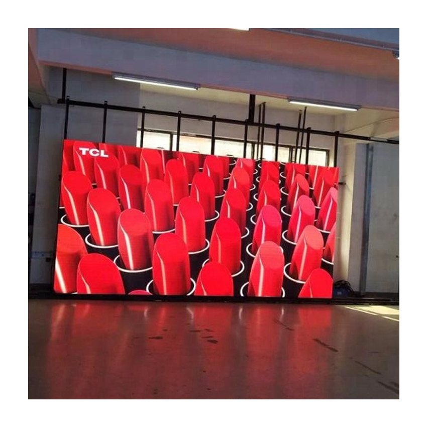 Led Advertising Stage Screen Panel Rental Indoor Full Color P10 SMD 640X640mm Aluminium Die Casting Cabinet
