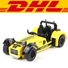 2017 NEW Yile 771Pcs Technic Series Caterham Seven 620R Model Building Kits Blocks Bricks Toy For Children Compatible With 21307
