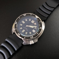 Men Automatic Watch Stainless Steel diving Watch 200m Water Resistant Ceramic bezel