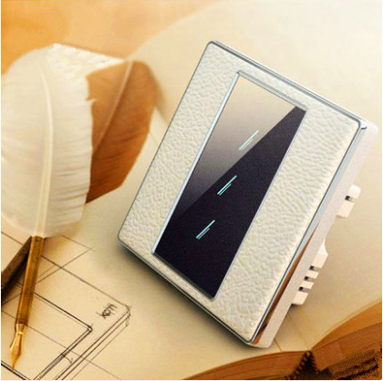 HUANGXING UK Standard, Touch Remote Control Light Switch, 3Gang1Way Acrylic Touch Panel Wall Switch, With LED Indicator, SRL0101 smart home us black 1 gang touch switch screen wireless remote control wall light touch switch control with crystal glass panel