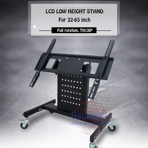 Rolling TV Mount Stand Trolley
