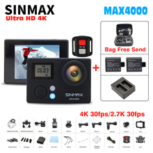 COMFAST SINMAX действие Камера 2.0LCD Wi-Fi Ultra HD 4 К/30fps мини Cam велосипед Go Спорт Камера HD 1080 P/60fps Дайвинг 30 м очень Cam