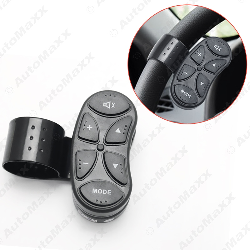 New 6 Key Car Wireless Steering Wheel Control Button For Car Android DVD font b GPS