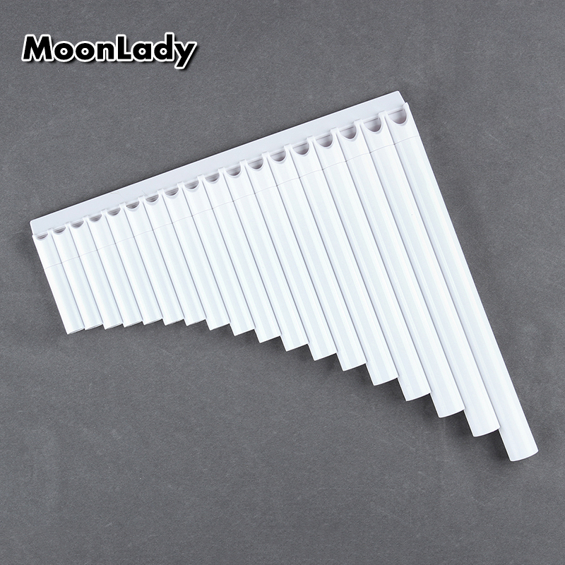 New Arrival 18 Pipes Pan Flute Pan Pipe G Key ABS Plastic Traditional Woodwind Musical Instrument For Beginner And Musical Lover