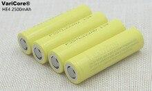 Recarregáveis de 3.7 4 PCS Novidade Original HE4 2500 MAH Li-lon Bateria 18650 Baterias V Poder 20A Max 35A Discharge