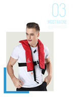 Automatic inflatable lifejacket inflatable airbag / Pullover vest