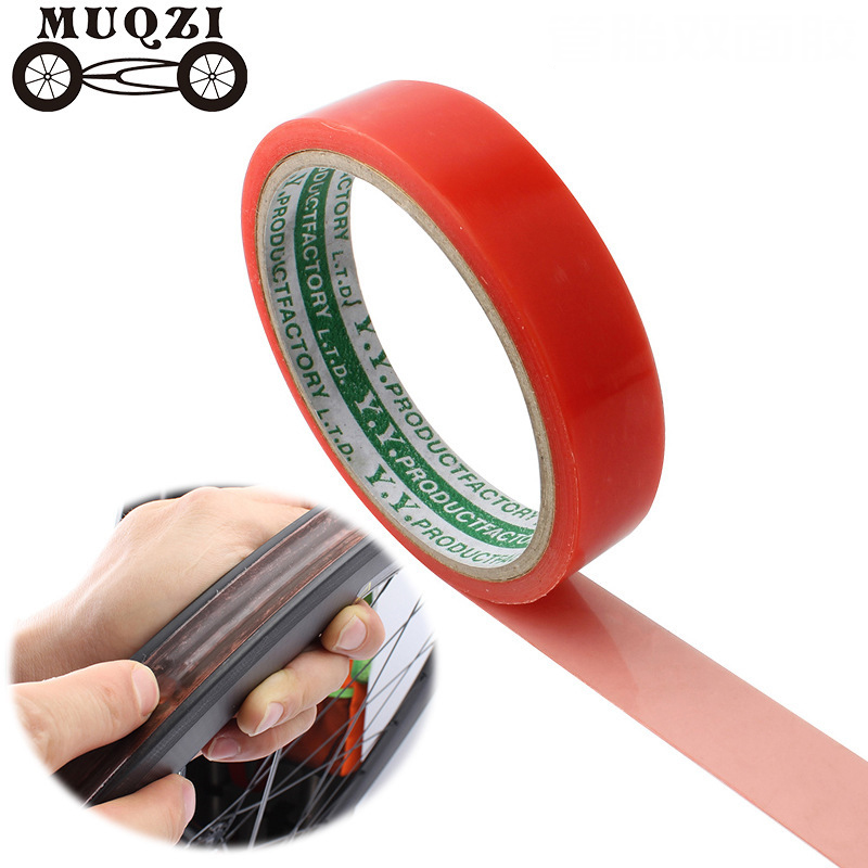 2pcs Tubular tyre tape Road Bicycle Wheel Tire Double-sided Tape Rim Tape 5m