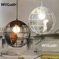 Tellurion подвесной светильник  железный глобус  подвесной светильник для ресторана  бара  кафе  спальни  столовой  креативное подвесное освещен...
