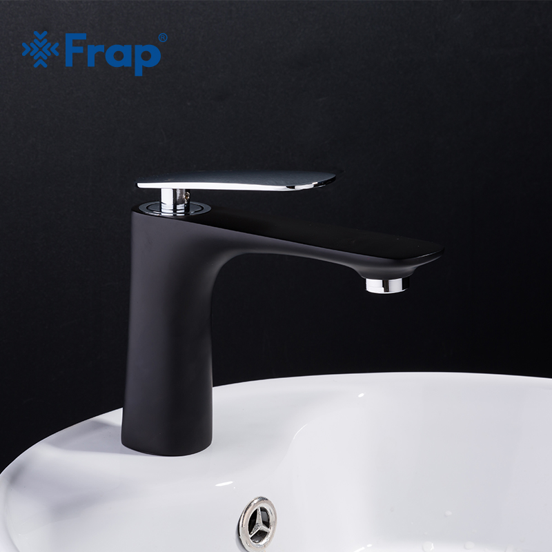 Frap New Basin Faucets Modern Bathroom Tap Brass Washbasin Faucet Black Faucet Cold And Hot Water Basin Faucet Water MixerY10038Frap New Basin Faucets Modern Bathroom Tap Brass Washbasin Faucet Black Faucet Cold And Hot Water Basin Faucet Water MixerY10038