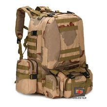 Tri Colors Sports Outdoor Military Tactical Backpack Travel Bags High Quality Camping Bag Hiking Trekking Bagpack