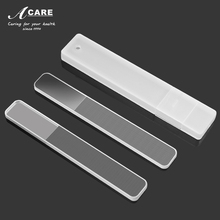 Nail Files Crystal Glass Nanometer Nail Shiner Set Buffert Manicure Device Polering Buffing Tool Nail Art Decorations Tool
