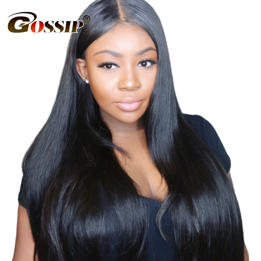 Straight Lace Front Wig 100% Human Hair Wigs For Black Women 13×4 Lace Front Human Hair Wigs Remy 130/150 Density Lace Wig
