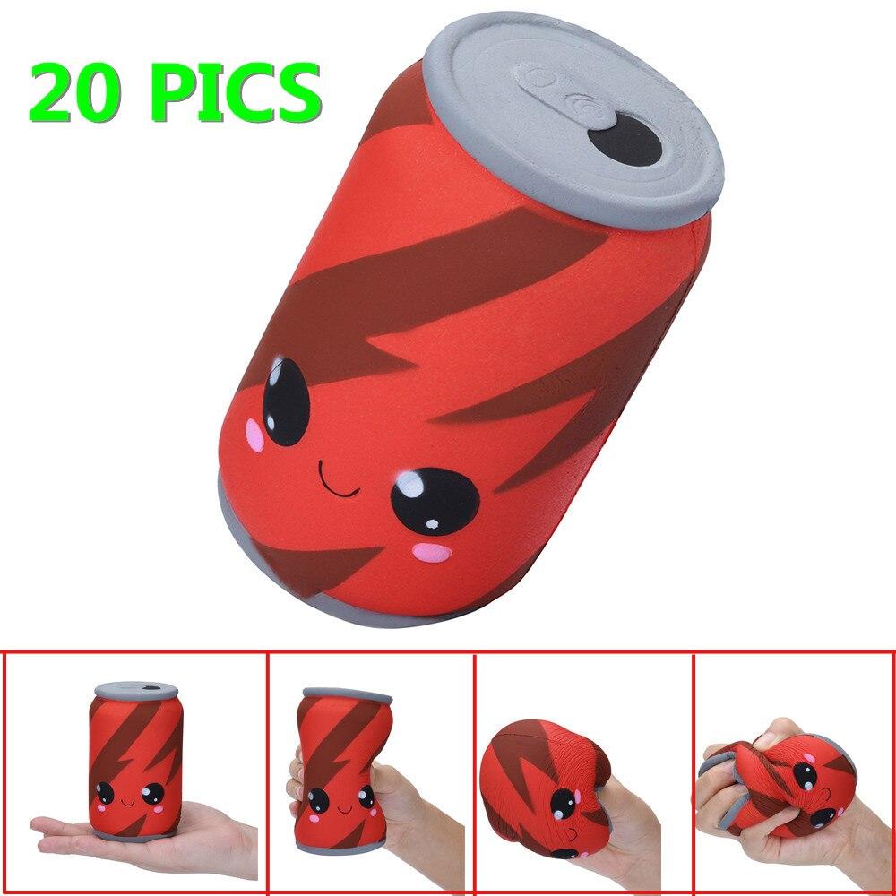 20 photos livraison directe Squishies jouet Squishy Antistress mignon lente augmentation Kid Collection presser Stress soulager Anxiet cadeau jouets