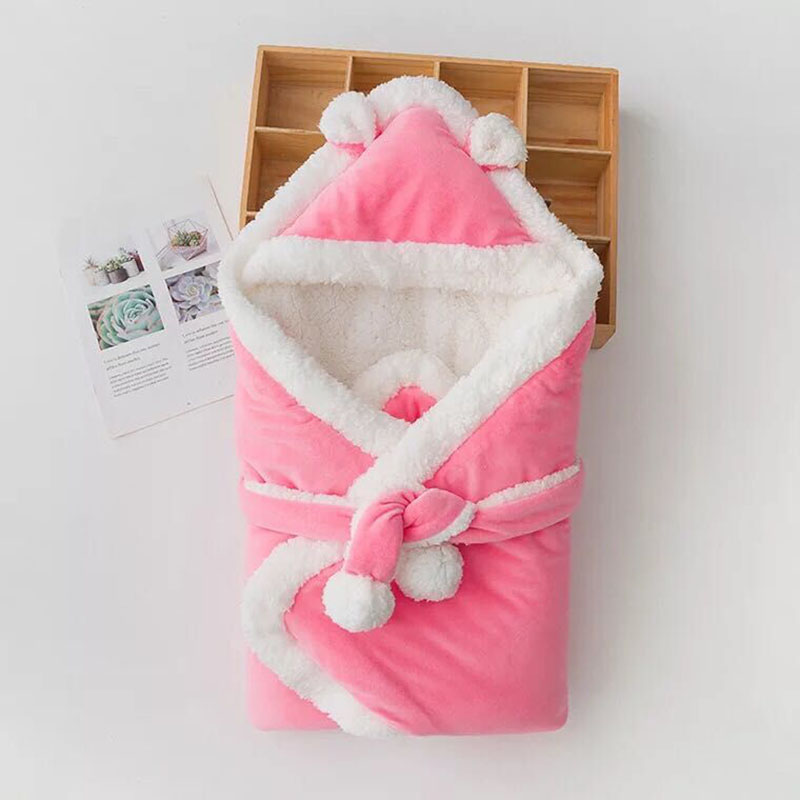 0 6Month Infant Swaddle Wrap Sleep sacks Bebe Spring Thermal Sleeping Bags Newborn Baby Winter Kids Cotton Thick Quilt in Quilts from Mother Kids